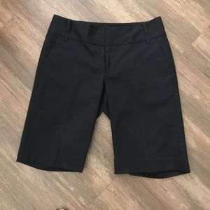 Banana Republic Black Dress Shorts